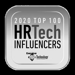 2020 Top 100 HR Tech Influencers award logo