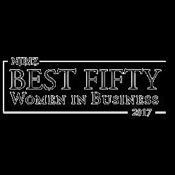 Njbiz Best Fifty Women in Business 2017 award logo