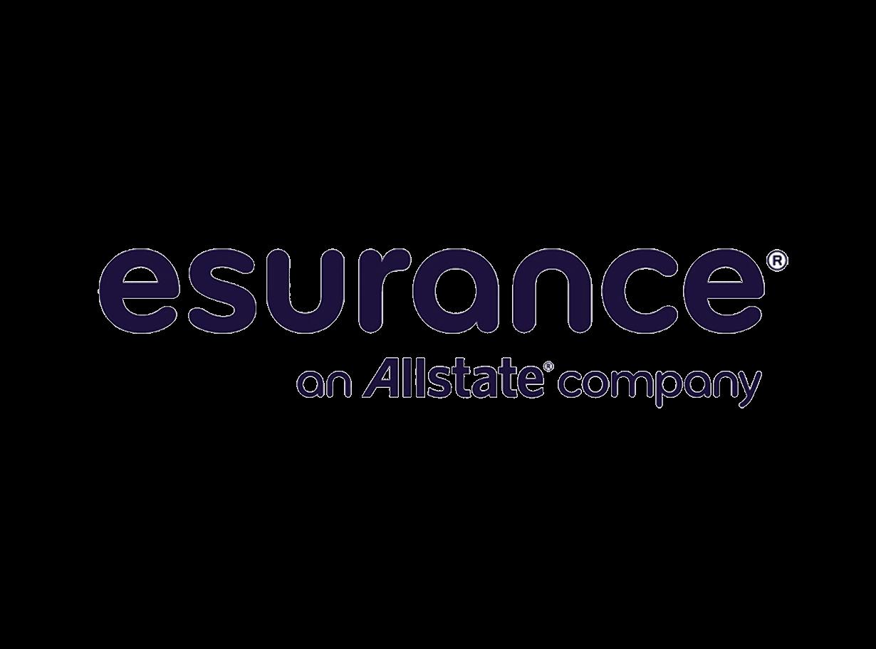 Logo for Esurance, an Allstate company