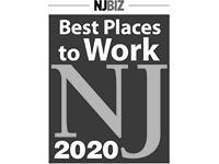NJBiz Best Places to Work NJ 2020 award logo