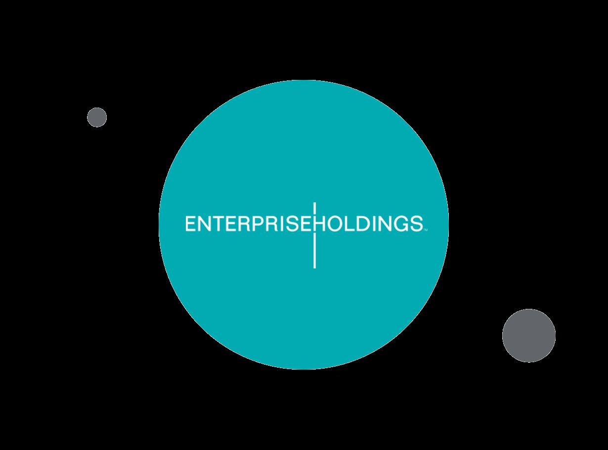 Enterprise Holdings logo within teal circle