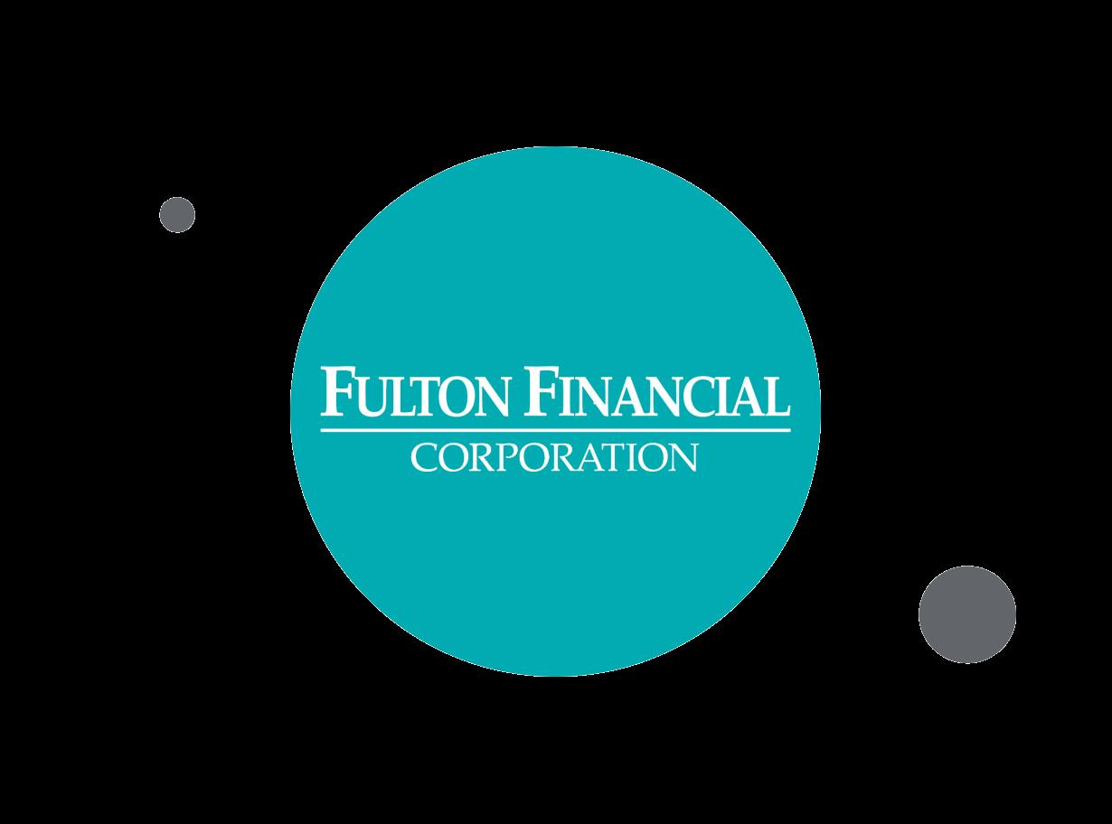 Fulton Financial Corporation logo within teal circle