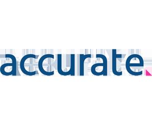 Accurate logo-iCIMS INSPIRE silver sponsor
