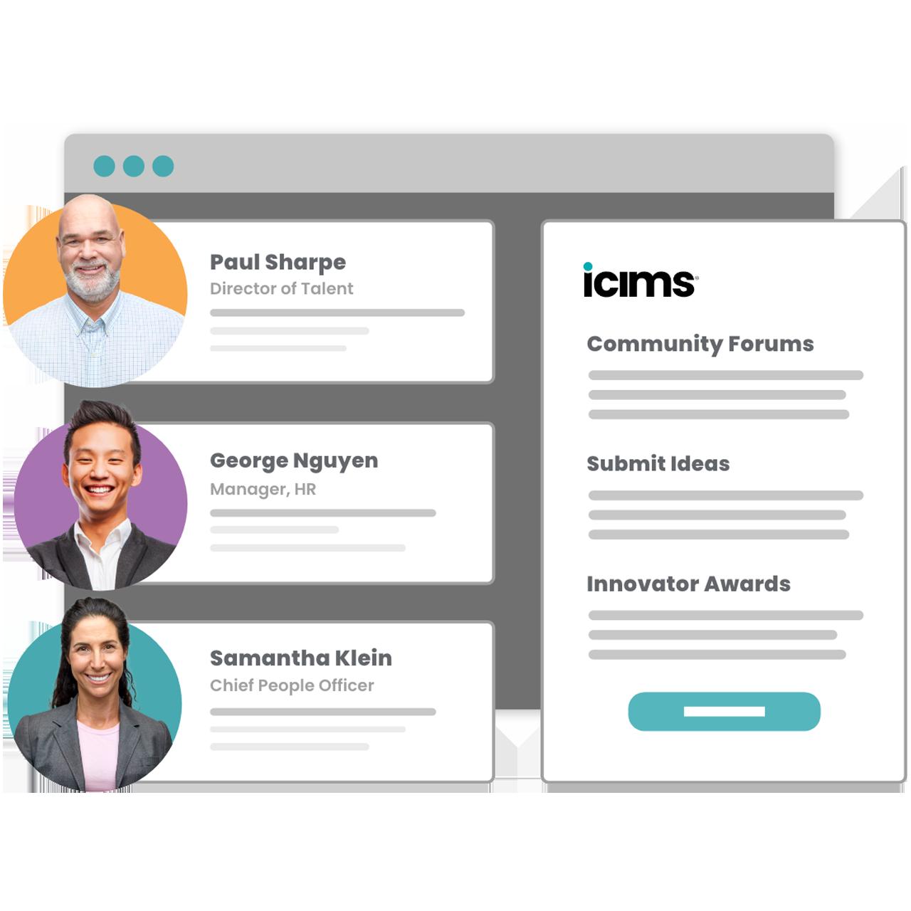iCIMS customer community member profiles